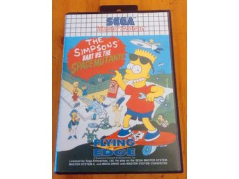 Sega Master System Bart vs the Space Mutants Komplett