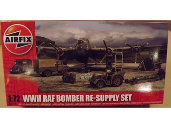 WWII RAF BOMBER RE-SUPPLY SET    Airfix   1/72 Byggsats
