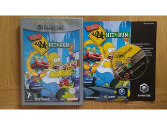 Nintendo GameCube: The Simpsons Hit n Run