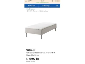 Ikea Sultan Timan Dekmatras.Hrd Bddmadrass Ikea Awesome Affordable Beautiful Sngar P Ikea
