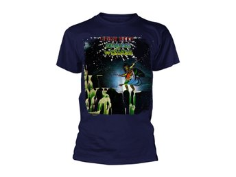 Uriah Heep Demons And Wizards (Navy)  T-Shirt 3 Extra-Large