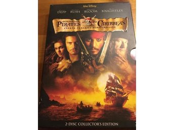 Dvd- Pirates of the caribbean svarta pärlans förbannelse