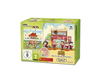 New Nintendo 3DS - Animal Crossing Happy Home Designer Edition