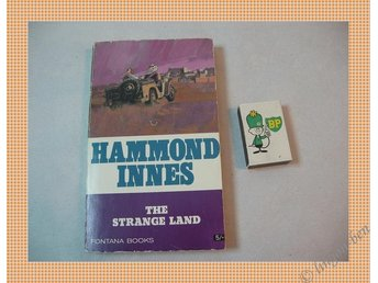 HAMMOND INNES - THE STRANGE LAND (ENGELSKA)