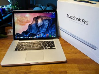 Macbook Pro 15.4 tums - 2.53 Ghz - 750 Gb HD.