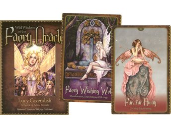 Wild Wisdom Of The Faery Oracle (47 Cards + 188 Page Gui 9781572815001