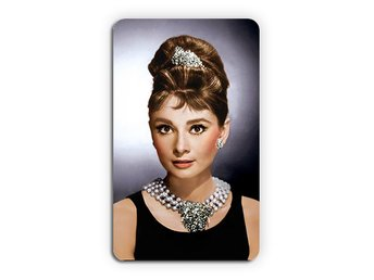 Audrey Hepburn Breakfast At Tiffanys Magnet Kylskåpsmagnet