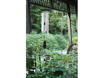 AMAZING GRACE CHIME, BLACK SATIN -  Woodstock Chimes