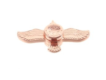 Två Vingad Fidget Spinner Flying Bird - Rose Gold