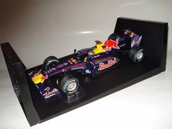 Minichamps 1:18 F1 Red Bull RB6 #5 Sebastian Vettel Abu Dhabi GP 2010 WC - Lindås - Minichamps 1:18 F1 Red Bull RB6 #5 Sebastian Vettel Abu Dhabi GP 2010 WC - Lindås