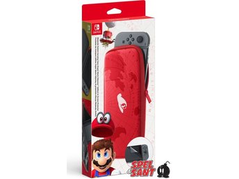 Nintendo Switch Carrying Case & Screen Protector Super Mario Odyssey Edition