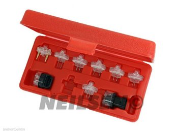 Professional 9 Piece Noid lights Set For Petrol Injection Systems