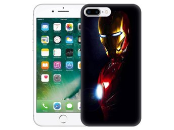 iPhone 7 Plus Skal Glowing Iron Man