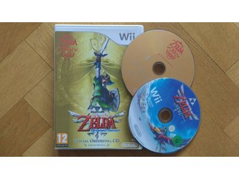 Nintendo Wii: Zelda Skyward Sword Limited Edition (svenskt, kräver motion plus)