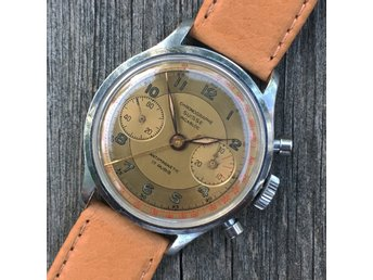 "Mycket fin vintage chronograph ""Chronograph Suisse"" 50-tal"