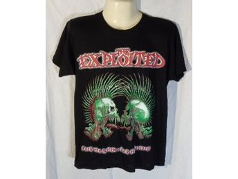 THE EXPLOITED.    T-SHIRT  HELT NY. ST  S .  !!!
