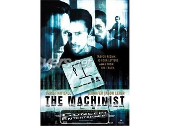 Machinist The, Christian Bale (Nytt) DVD