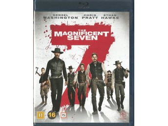 THE MAGNIFICENT SEVEN - DENZEL WASHINGTON / CHRIS PRATT (BLU RAY - SVENSKT TEXT)