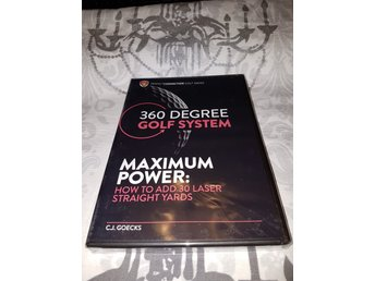 C.J. Goecks - 360 degree golf system - Maximum Power *INPLASTAD*