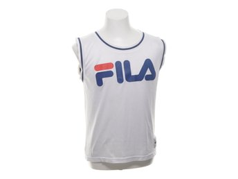 Fila, Basketlinne, Strl: S, Blå/Vit