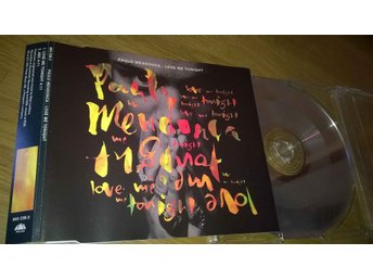 Paulo Mendonça ‎– Love Me Tonight, CD, Single, rare!