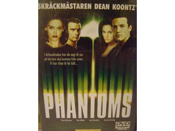 DVD, PHANTOMS, FILMEN ÄR I ABSOLUT NYSKICK, SVENSK TEXT