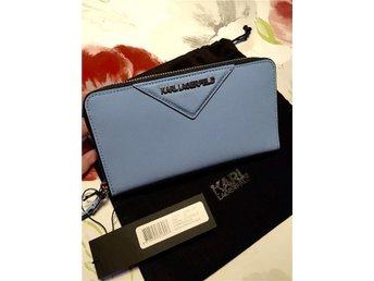 KARL LAGERFELD Ny!! Ljusblå plånbok - Almunge - KARL LAGERFELD Ny!! Ljusblå plånbok - Almunge