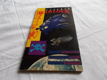 Spaceship Warlock Mac OS CD ROM spel Reactor 1990