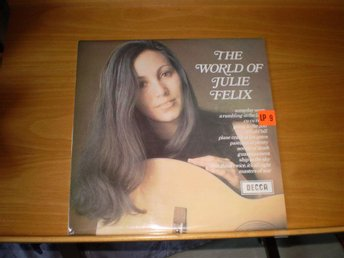 LP, Julie Felix vol. 1 och 2.