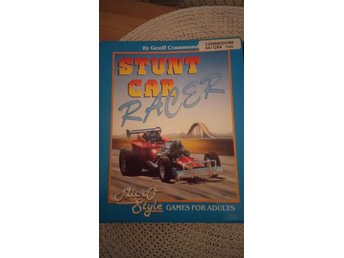 Stunt car racer Commodore 64-128 kassettband 1989