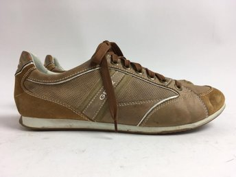 Geox, Sneakers, Strl: 43, Beige/Orange