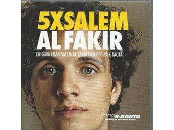 AL FAKIR - 5 X SALEM (CD MAXI/SINGLE ) - Svedala - AL FAKIR - 5 X SALEM (CD MAXI/SINGLE ) - Svedala