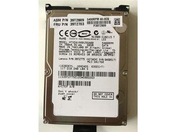 """SATA Hårddisk för laptop 60GB Formaterad 5400RPM 2,5"""" med hållare - Kista - SATA Hårddisk för laptop 60GB Formaterad 5400RPM 2,5"""" med hållare - Kista"""