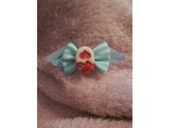 Kawaii söt brooch glass rosett vingar fairy kei lolita