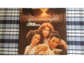 Silver Convention (Penny McLean mfl) - Summernights - LP - 1977 - M-/VG+