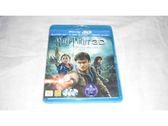 Blu-ray - Harry Potter and the deathly hallows 2 - Svensk text