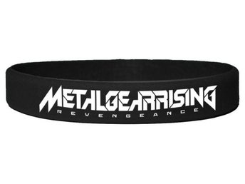 Metal Gear Rising Silicon Wristband