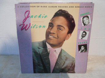 SOUL LP REA !!!!! Jackie Wilson - Through The Years !!!!!