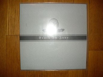 "DEATH IN JUNE The March of the Lonely 7"" NY! SVART VINYL LIMITERAD 200 EX"