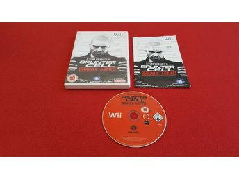 SPLINTER CELL DOUBLE AGENT till Nintendo Wii