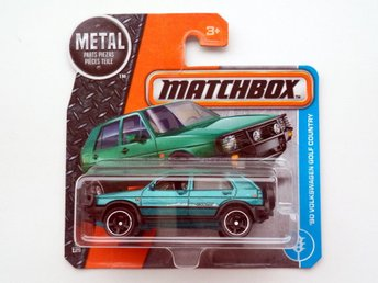 Matchbox - 1990 Volkswagen VW Golf Country