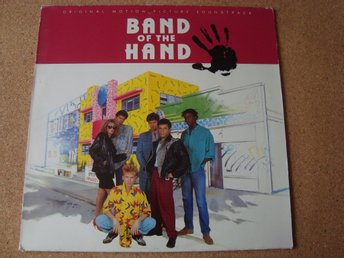 Bob Dylan Soundtrack Till Filmen Band Of The Hand Från 1986 The Reds Mfl