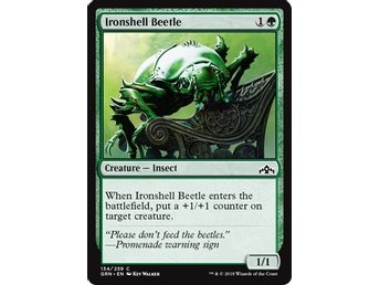 Ironshell Beetle - Magic The Gathering