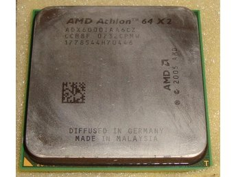 AMD Athlon64 X2 6000 Socket AM2 DUAL CORE