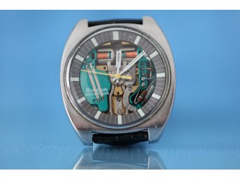 Bulova Accutron Spaceview M9 - Herrur - Kal 2141 - Ovanlig - 38x37mm - 1968