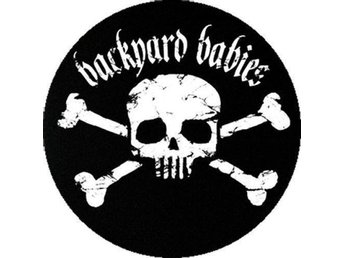 BACKYARD BABIES - 4,5 cm - Pin / Knapp / Badge (Hellacopters, Dregen,)