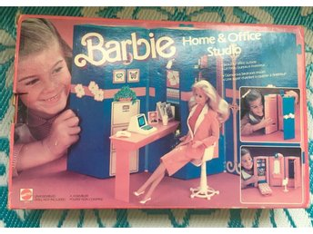 Wow! Barbie 'Day To Night' Home & Office Studio, komplett! NIB 1984 - Malmö - Wow! Barbie 'Day To Night' Home & Office Studio, komplett! NIB 1984 - Malmö