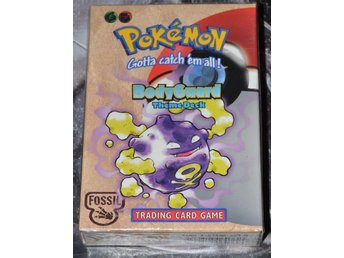 Pokemon Fossil 'BodyGuard' THEME DECK Förseglad / Sealed