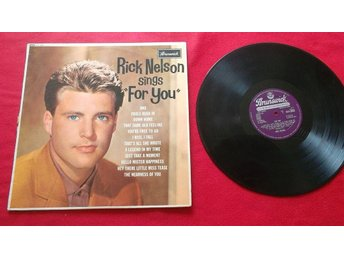 "Rick Nelson ""Sings for you"" LP"