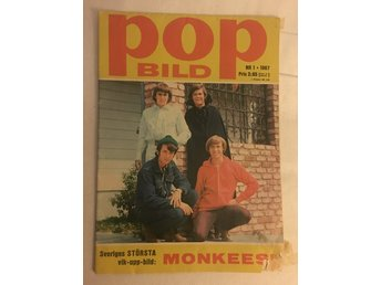Monkees POP Bild nr. 1 1967